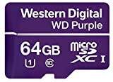 WD Purple 64GB MicroSDXC Klasse 10 Speicherkarte, WDD064G1P0A