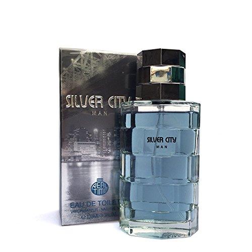 Midi Shopping - Eau de Toilette homme Silver City Man 100ml