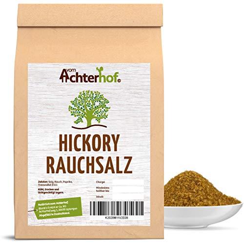 1kg Rauchsalz Hickory Salz smoked der Alleskönner mit dem Raucharoma vom-Achterhof BBQ Gewürze