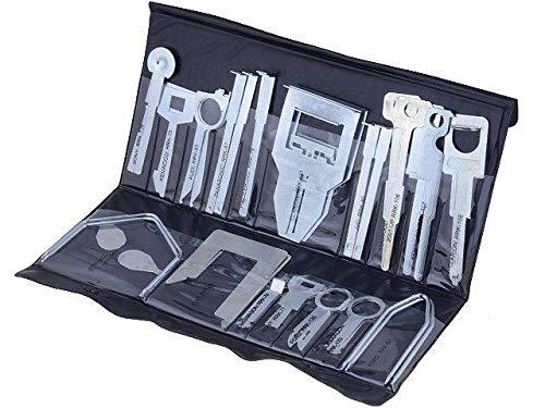 ADN-Auto 64376Super Kit–Llave extracción Radio Universal–17Llaves, Set de 17