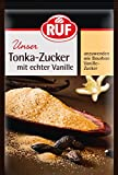 RUF Tonka-Zucker mit gemahlenen Tonka-Bohnen und echter Vanille, 2er Pack (2 x 3 x 8g) -