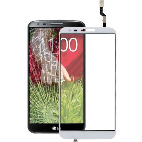 YAOLAN Piezas de Recambio Pieza de reemplazo de digitalizador de Pantalla táctil for LG G2 / D802 / D805 Piezas de Recambio para LG (Color : Blanco)