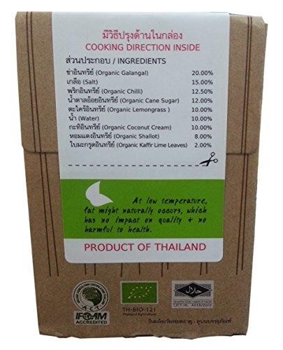 Lum Lum Organic Tom Kha Paste 3.5 Oz.(pack of 3)