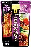 ミツカン 〆まで美味しいごま担々鍋つゆ ストレート 750g×3個