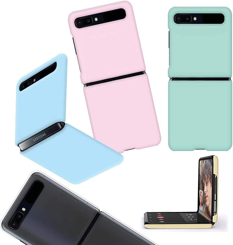 for Samsung Galaxy Z Flip Case Cover Slim Hard [Slim Fit] Protective Polycarbonate Shell Cover Vivid Color