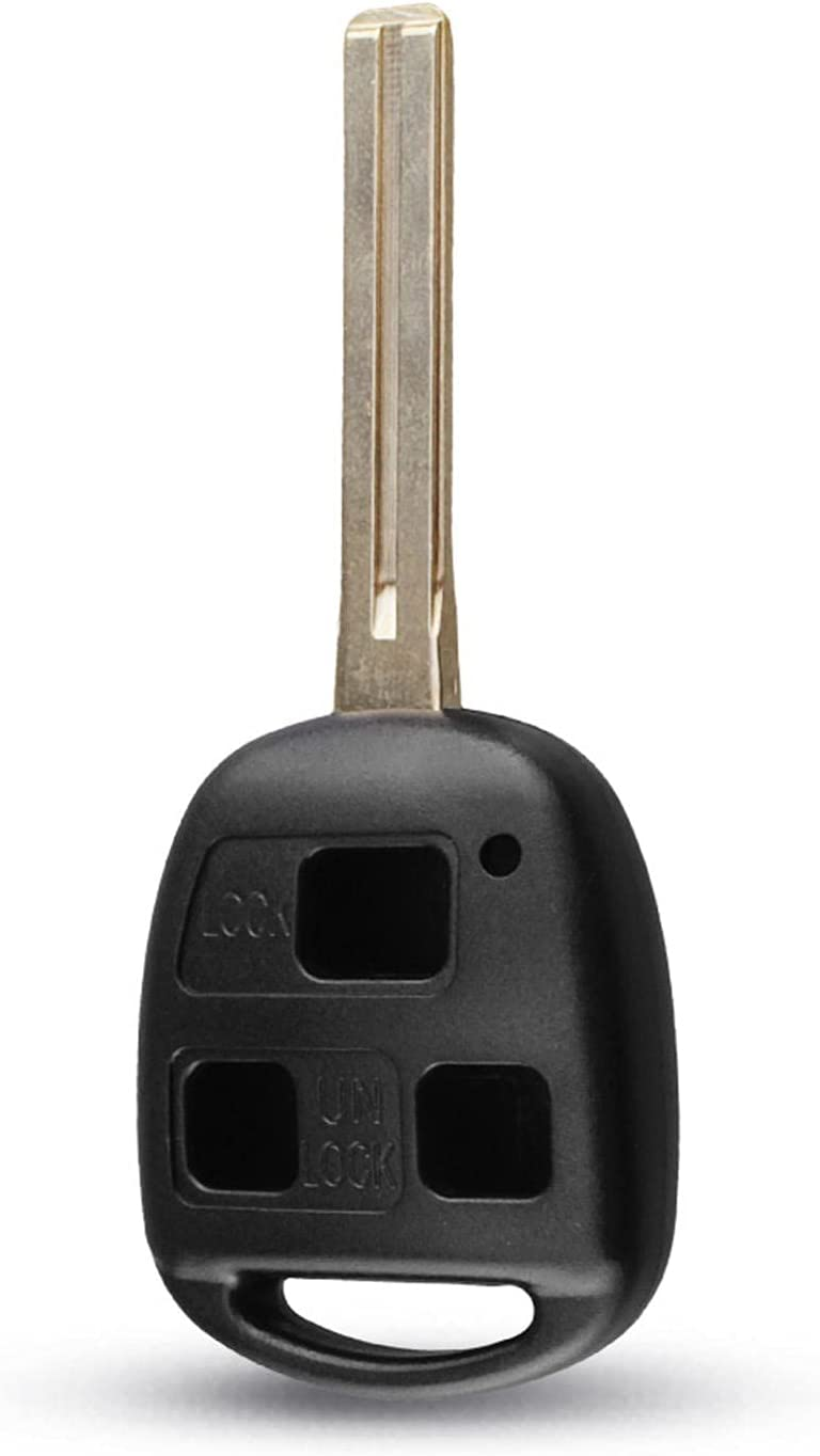 FLJKCT Car Topics on TV Key Shell 3 Button Uncut Case Blade Remo 46mm Manufacturer regenerated product