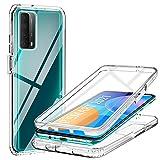ivencase Coque Compatible avec Huawei P Smart 2021, Antichoc 360 Degrés Protection avec TPU...