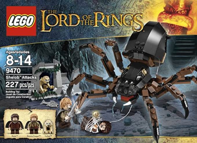 LEGO Lord Of The Rings 9470 Hobbit Shelob Attacks