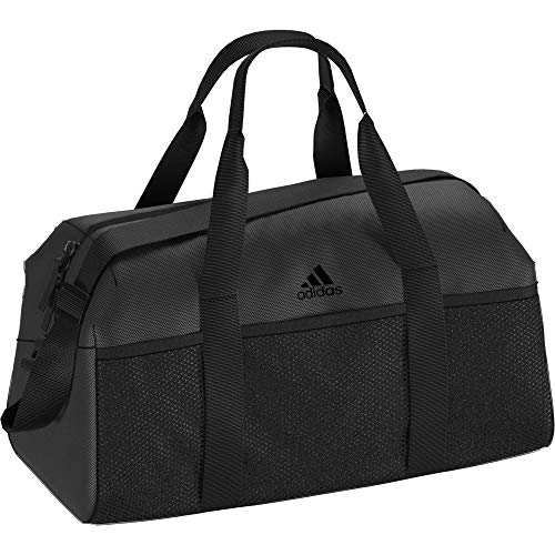 adidas Damen Training Core S Sporttasche, Black/Carbon, 22 x 46 x 30 cm