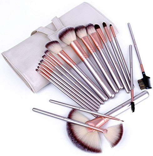 Make up Brushes,TTRWIN 18 Pcs Professional Makeup Brush Set Synthetic...