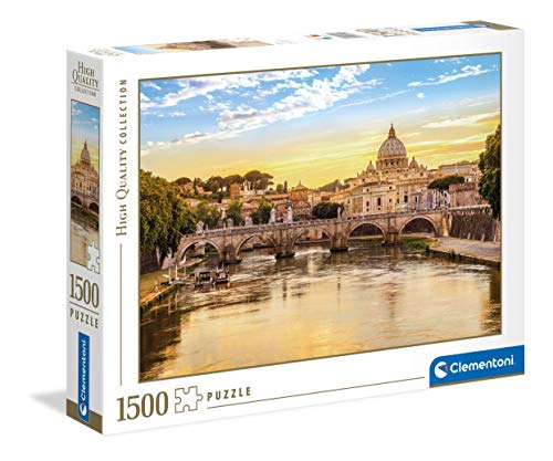 Clementoni Collection-Rome-puzzle 1puzzle adulti 500 pezzi, Made in Italy, Multicolore, 31819