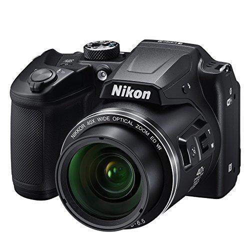 """Nikon COOLPIX B500 - Cámara digital de 16 MP (4608 x 3456 píxeles, TTL, 1/2.3"""", 4 - 160 mm) negro - Versión Nikonistas [Garantía a 5 años con el acceso a Nikonistas]"""