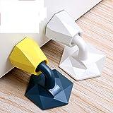 Topes Puerta Adhesivo Suelo/Topes para Puertas (4 piezas), antirruido de nuevo diseño Topes para Puertas