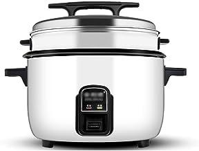 rff Rice Cooker Grande capacité 8L / 10L / 30L avec Steamer Grand Cantine Hôtel Commercial Hôtel Accueil démodés Rice Cook...