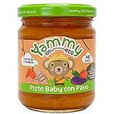 Yammy Potito Ecológico de Pisto Con Pavo a partir de 6 Meses 195 g Pack de 12