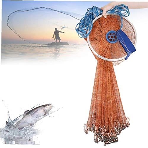 Newin Star Pesca Red echada Fuerte de Nylon monofilamento de Tiro de la Mano de Pesca de Malla de Cebo Trampa la Red del Tiro para Cebo de Pesca Trampa