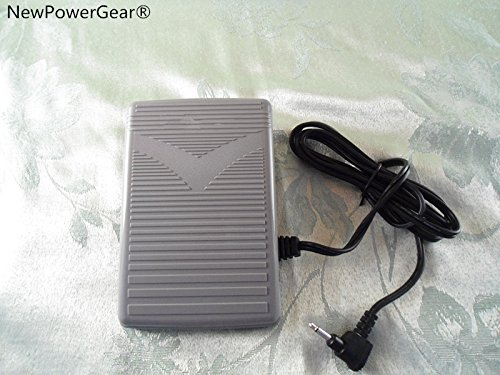 NewPowerGear Foot Control Pedal Replacement For Janome (New Home) 8077, 8080 Harmony 8100, 888, 9006, AQS2009, DC1018