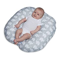 THE PERFECT NEST: Gently cradles baby in a comfy hang out, giving you a hands-free moment during baby's supervised awake time PORTABLE DESIGN: Grab and go - soft, lightweight fabric with convenient handle for easy travel from house-to-house or room-t...