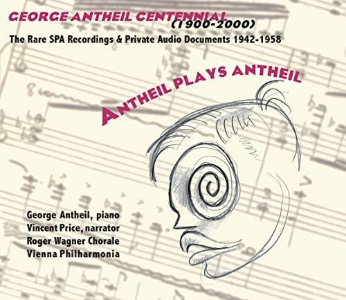 Antheil Plays Antheil (2CD)