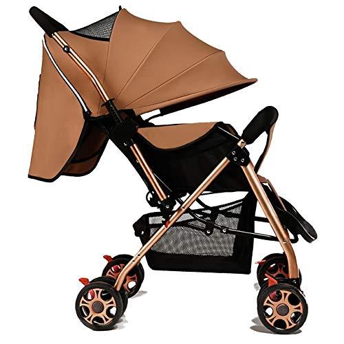 Poussettes Bébé, Chariot de bébé Pliable ultraléger léger 0-1-3 Ans