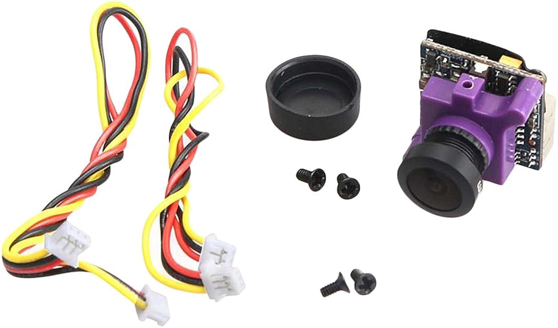 MonkeyJack Mini FPV Camera MS1672 600TVL 2.1mm Lens NTSC IR Blocked for RC Racing Drone Parts