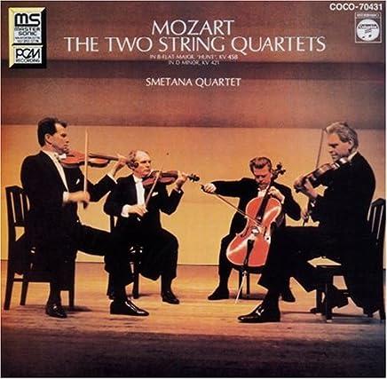 モーツァルト:弦楽四重奏曲第15番・第17番
