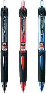 三菱鉛筆 油性ボールペン パワータンク スタンダード 0.7mm 黒軸黒インク/赤軸赤インク/青軸青インク SN-200PT-07.24/15/33 3色3本組み