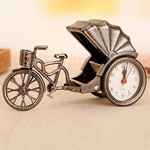 donfonhyx989u7 Creative horloges vintage motorfiets model wekker creatieve tien yuan winkel