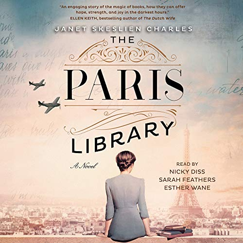 The Paris Library cover art