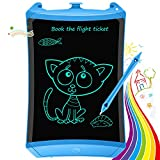 Bravokids Boys Girls Toys, Gifts Toys for 2-6 Year Old Girls Boys, 8.5 inch LCD Writing Tablet Kids Toddler Drawing Doodle Board Toys, Educational and Learning Toys Gifts for Age 3 4 5 6 7 8 12 (Blue)