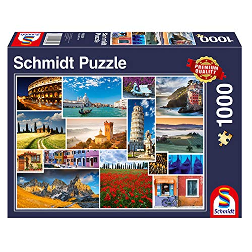Schmidt Spiele Have A Holiday In Italy Jigsaw Puzzle