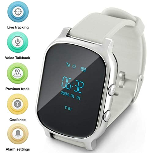 Gps Watch For Kids Seniors, Smart Watch Phone Gps Tracker With Anti Lost SOS Call
