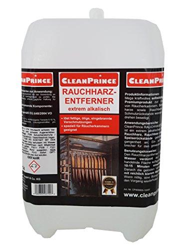 Rauchharz-Entferner 10 Liter Rauchharzentferner Reiniger Grillreiniger BBQ-Reiniger Smoker Räucherkammer Räucherofen Rauchharz Löser