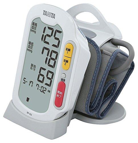 タニタ 上腕式血圧計 ホワイト BP-223-WH