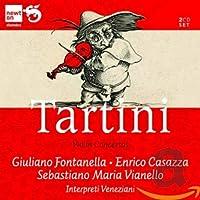 タルティーニ:ヴァイオリン協奏曲集