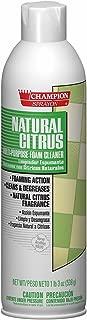 Champion 5154 Sprayon Natural Citrus Foaming Cleaner, 19 oz Aerosol (Pack of 12)