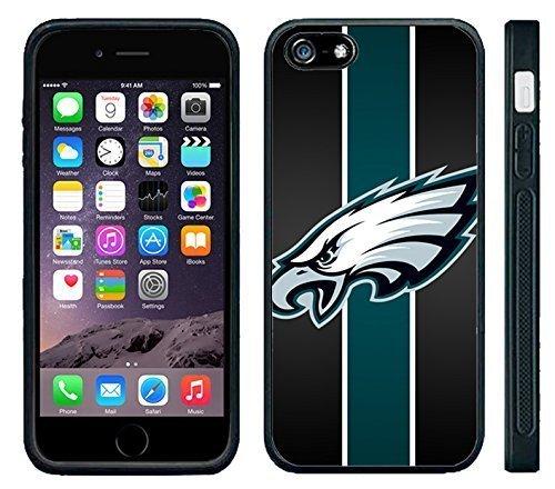 Carcasa de silicona para Apple iPhone 6, diseño de Philadelphia Eagles Football NFL