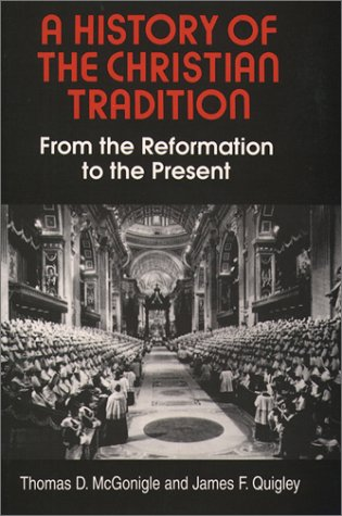 A History of the Christian Tradition, Vol. II: From the...