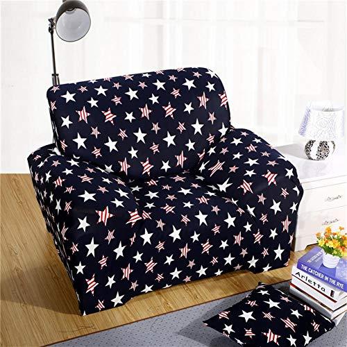 ASPZQ Sólido de Color Antideslizante Combinación elástico con Todo Incluido, Universal sofá de Cuero Cubierta, Cubierta de Polvo Tela Europea,P,90 to 140cm