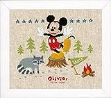 Vervaco–Kit de Punto de Cruz Disney woodys Aventura, Cruz Cruz, algodón, Multicolor, 29x 26x 0,3cm