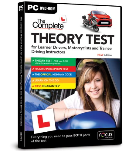 The Complete Theory Test for Learner Drivers, Motorcyclists and Trainee Driving Instructors New 2013 edition [import anglais]