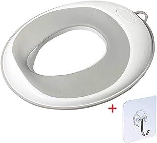 YummyBuy トイレ 子供 おまる 補助便座 ベビー 幼児用便座トレーニング 柔らかい便座 子供用トイレットトレーナー PPの環境に優しい材料 保存が簡単、掃除が簡単 4色が選べます (グレー)