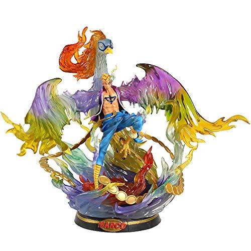 QWEI Anime One Piece Phoenix Action Figure 46Cm, PVC Arquetipo Película Juguete Muñeca Coleccionable Regalo