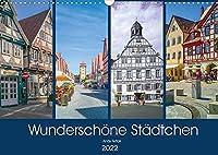 Wunderschoene Staedtchen (Wandkalender 2022 DIN A3 quer): Ich will sie zu einem Treffen mit 12 wunderschoene Ortschaften einladen, wo Zeit ganz langsam laeuft. (Monatskalender, 14 Seiten )