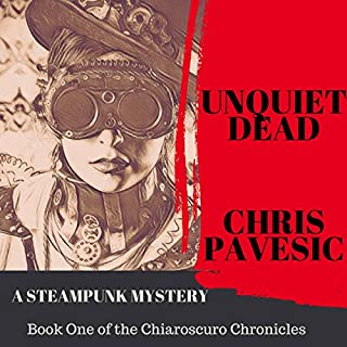 Unquiet Dead audiobook cover art
