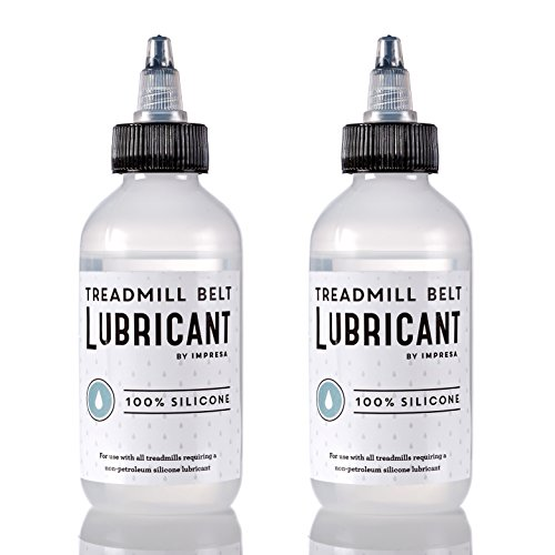 2 Pack of Silicone Treadmill Belt Lubricant / Lube - Easy to Apply Lubrication - Made in the USA