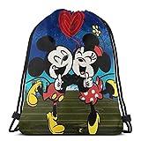 Bolsa clásica con cordón para parejas, gimnasio, mochila de hombro, bolsa de almacenamiento deportiva para hombre y mujer