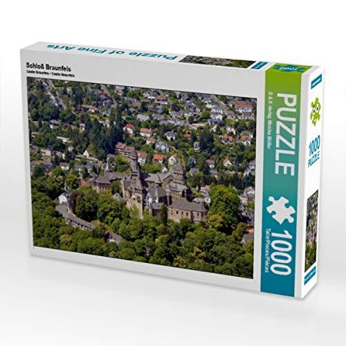 CALVENDO Puzzle Schloß Braunfels 1000 Teile Lege-Größe 64 x 48 cm Foto-Puzzle Bild von Monika Müller