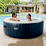 Intex Pure Spa Blue Navy 4 Places, Bleu Nuit