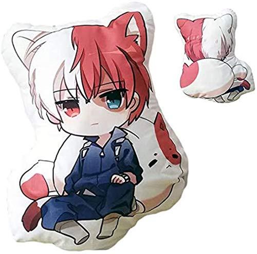 AUGYUESS Anime-Fan, Anime-Geschenk, Cosplay-Geschenke, My Hero Academia Plüsch-Todoroki-Shoto-Puppe, umarmtes Kissen, Geburtstagskissen, TGE-3534